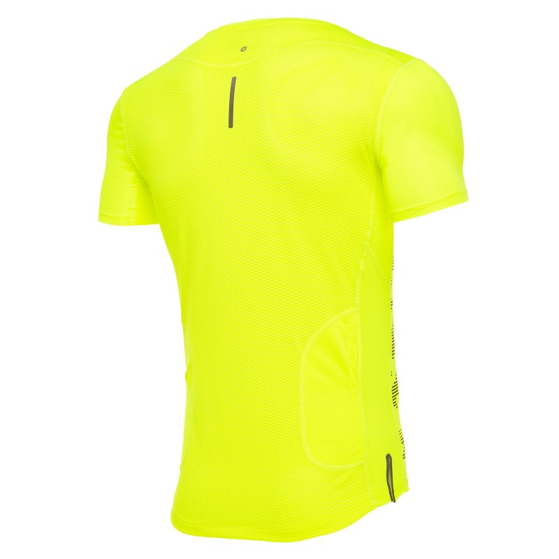 Macron Løbe t-shirt Patrick mænd gul